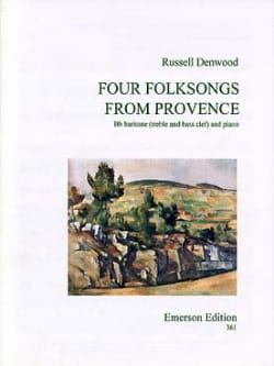 Four Folksongs From Provence - Russell Denwood - laflutedepan.com