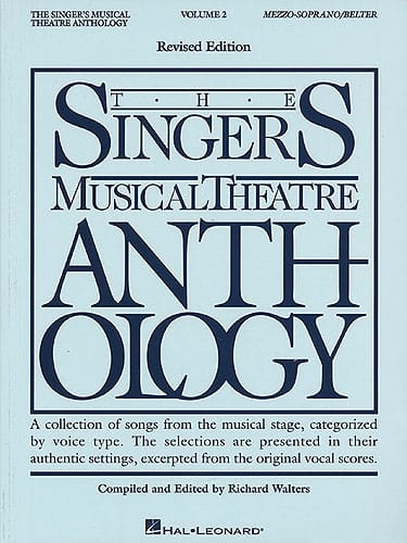 The Singer's Musical Theatre Anthology Volume 2 - Mezzo / Soprano - laflutedepan.com