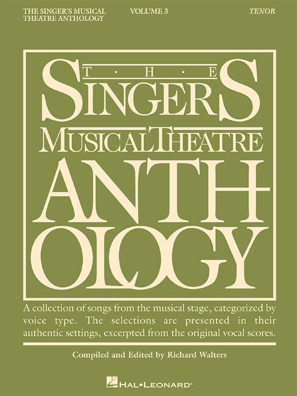 - The Singer's Musical Theater Anthology Volume 3 - Tenor - Partition - di-arezzo.co.uk