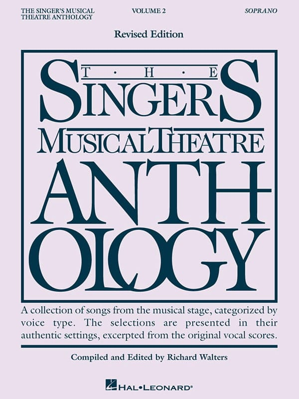 - The Singer's Musical Theater Anthology Volume 2 - Soprano - Partition - di-arezzo.co.uk