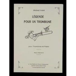 Michel Hulot - Legend For A Trombone - Partition - di-arezzo.com