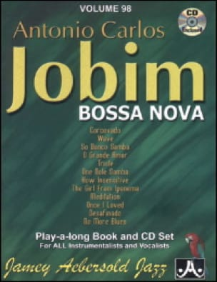 METHODE AEBERSOLD - Volume 98 - Carlos Jobim - Partition - di-arezzo.co.uk