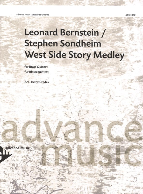 West Side Story Medley - BERNSTEIN - Partition - laflutedepan.com