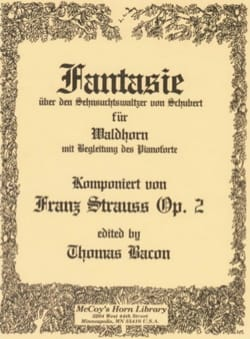 Franz Strauss - Fantasie Waltz by Schubert Opus 2 - Partition - di-arezzo.co.uk