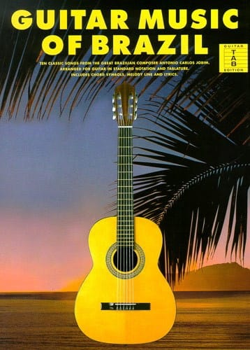 Antonio Carlos Jobim - Guitar Music Of Brazil - Partition - di-arezzo.co.uk