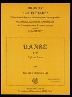Danse - Jacques Deshaulle - Partition - Xylophone - laflutedepan.com