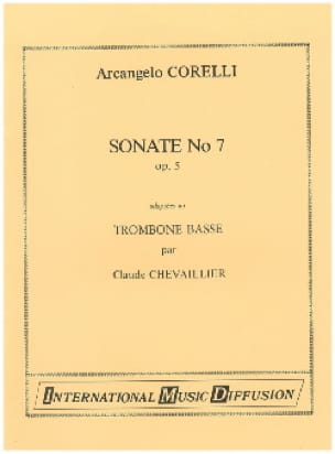 Sonate N° 7 Opus 5 - CORELLI - Partition - Trombone - laflutedepan.com