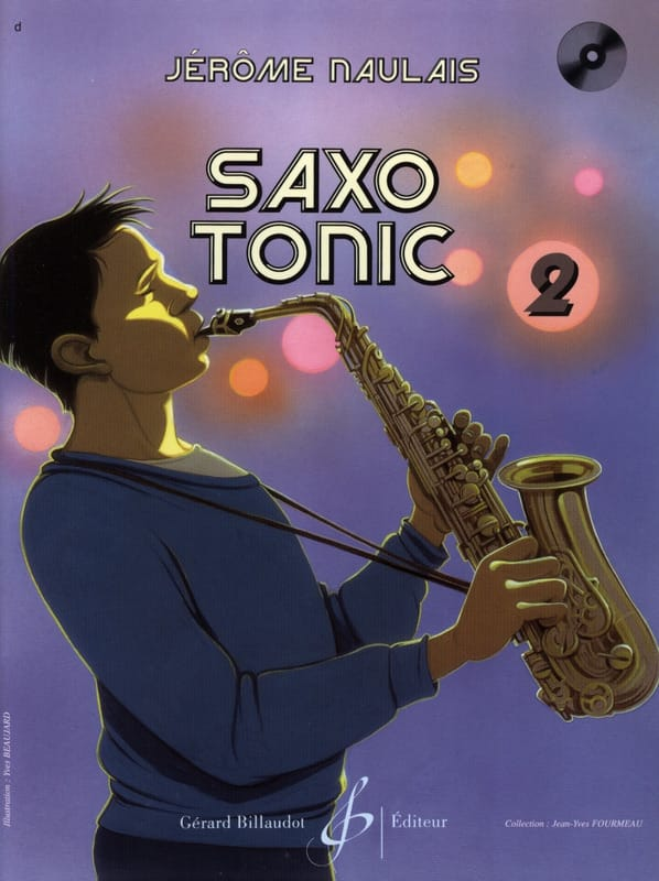 Jérôme Naulais - Saxo Tonic Volume 2 - Partition - di-arezzo.co.uk