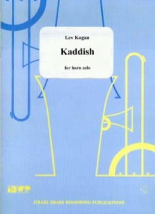 Kaddish - Lev Kogan - Partition - Cor - laflutedepan.com