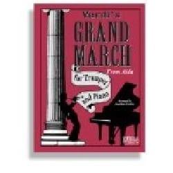 Grand March From Aida - VERDI - Partition - laflutedepan.com