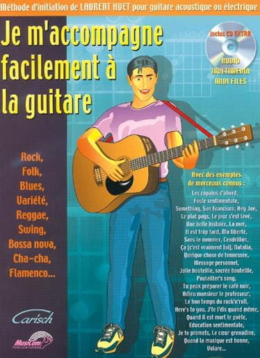Laurent Huet - I accompany myself easily on the guitar - Partition - di-arezzo.co.uk