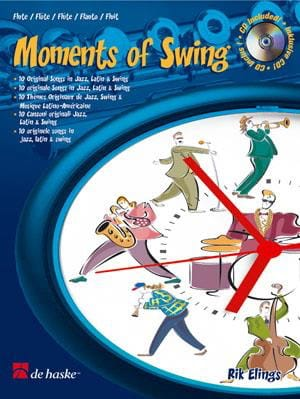 Moments Of Swing - Rik Elings - Partition - laflutedepan.com