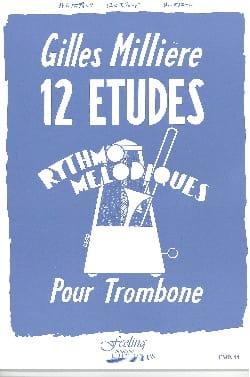Gilles Millière - 12 estudios melódicos de Rythmo - Partition - di-arezzo.es