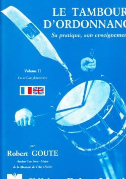 Robert Goute - The Drum of Prescription Volume 2 - Partition - di-arezzo.co.uk