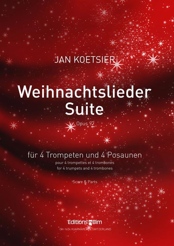 Weihnachtslieder-Suite Opus 97 - Jan Koetsier - laflutedepan.com