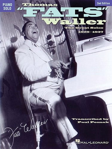 The Great Solos 1929-1937 - Fats Waller - Partition - laflutedepan.com