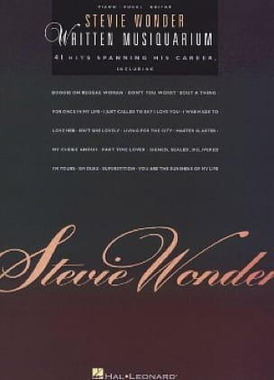 Written Musiquarium - Stevie Wonder - Partition - laflutedepan.com