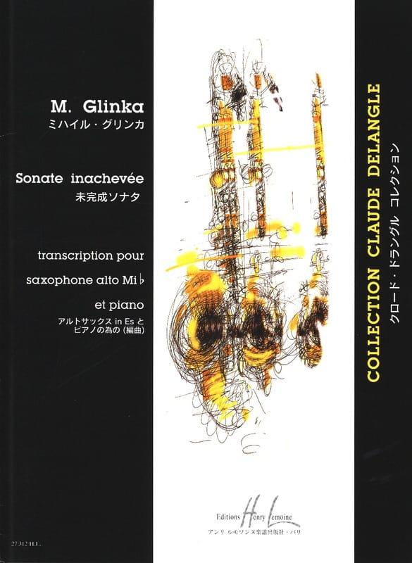 Sonate Inachevée - M. Glinka - Partition - laflutedepan.com