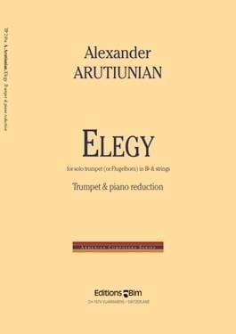 Elegy - Alexander Arutiunian - Partition - laflutedepan.com