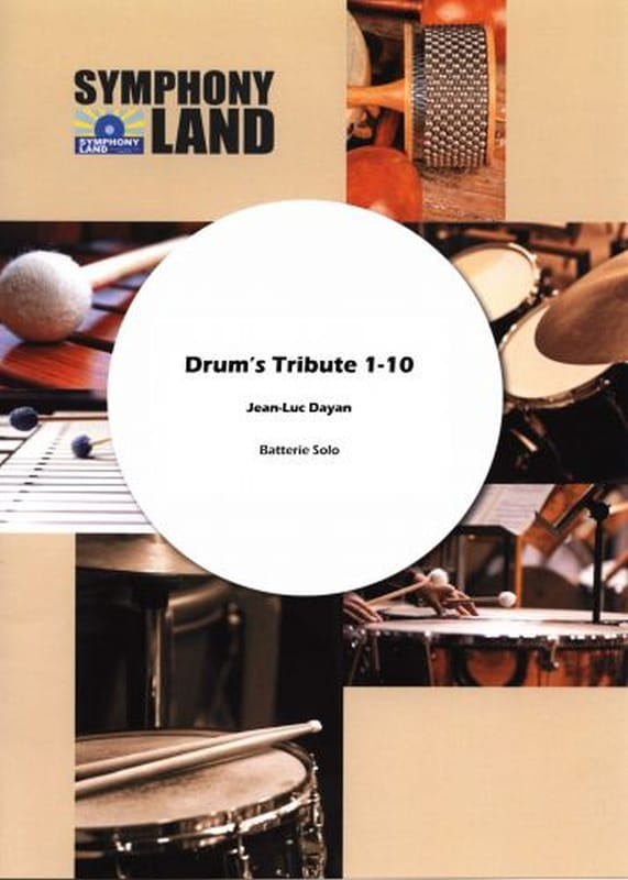Jean-Luc Dayan - Drum's tribute N ° 1 - Partition - di-arezzo.com