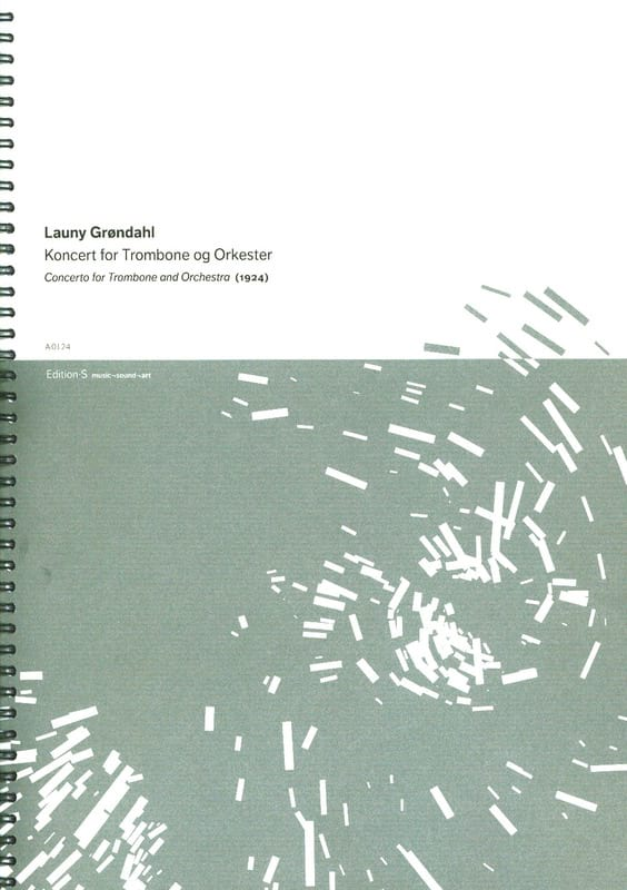 Concert - Launy Gröndahl - Partition - Trombone - laflutedepan.com