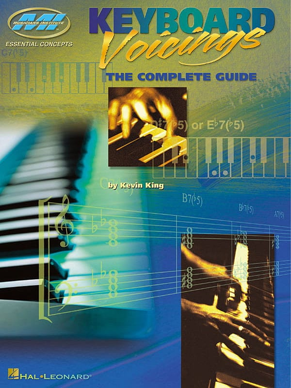 Kevin King - Keyboard Voicings The Complete Guide - Partition - di-arezzo.co.uk