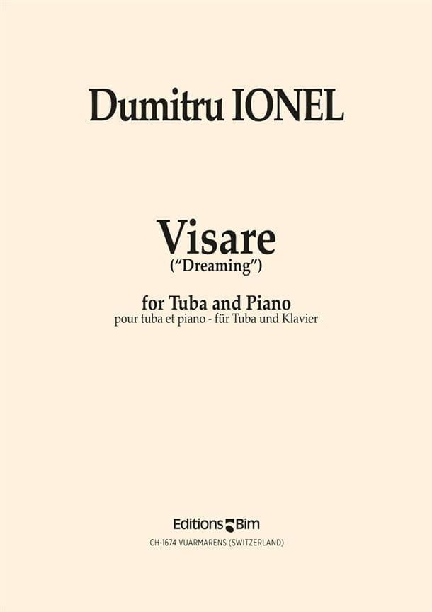 Dumitru Ionel - Visare Dreaming - Partition - di-arezzo.com