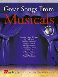 Great Songs From Musicals - Partition - laflutedepan.com