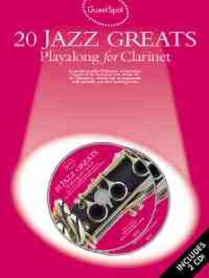 Guest Spot - 20 Jazz Greats Playalong For Clarinet - laflutedepan.com