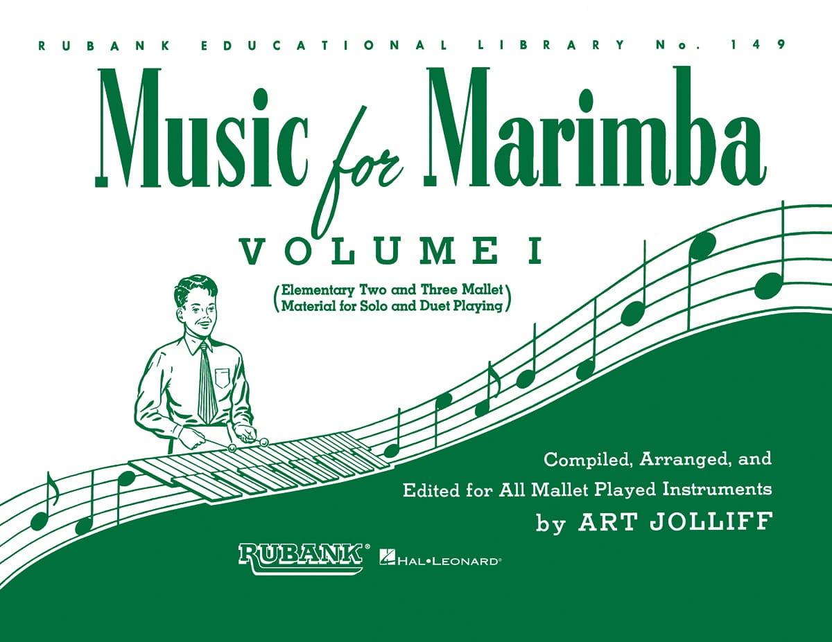 - Music For Marimba Volume 1 - Partition - di-arezzo.com