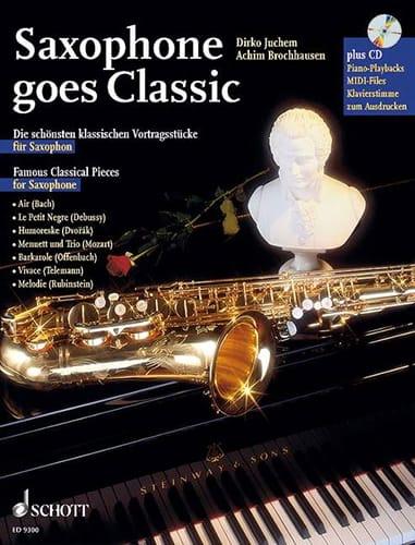 Saxophone Goes Classic - Partition - Saxophone - laflutedepan.com
