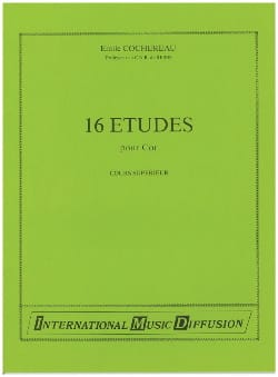 Emile Cochereau - 16 Studies - Higher Education - Partition - di-arezzo.co.uk
