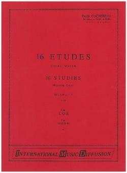 Emile Cochereau - 16 Studies Medium - Partition - di-arezzo.co.uk