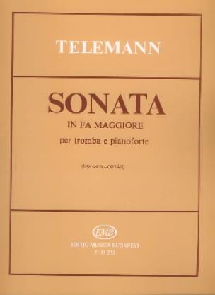 TELEMANN - Sonata in F Major - Partition - di-arezzo.co.uk