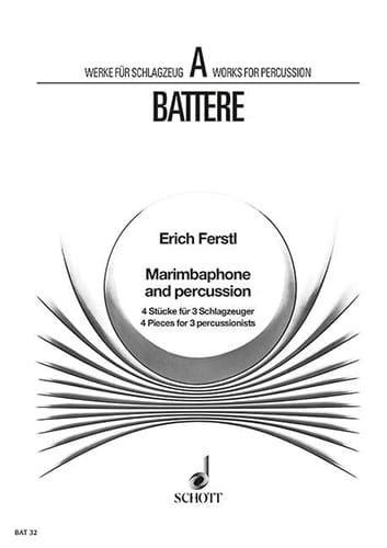 Marimbaphone & Percussion - Erich Ferstl - laflutedepan.com