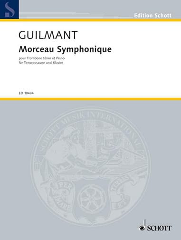 Morceau Symphonique - Alexandre Guilmant - laflutedepan.com
