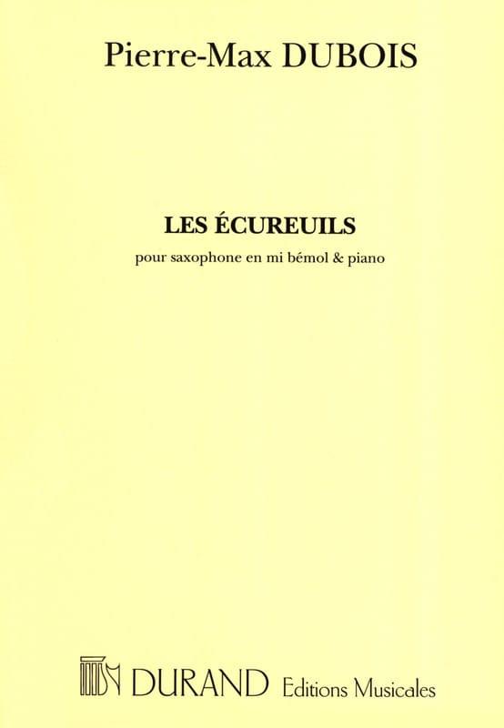 Pierre-Max Dubois - squirrels - Partition - di-arezzo.co.uk