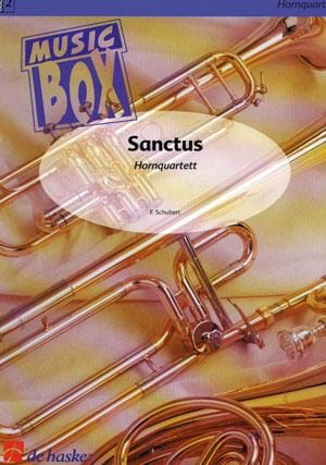 SCHUBERT - Sanctus - music box - Partition - di-arezzo.co.uk