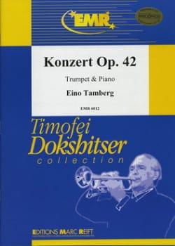 Konzert Opus 42 - Eino Tamberg - Partition - laflutedepan.com