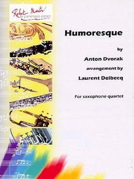 Humoresque - DVORAK - Partition - Saxophone - laflutedepan.com