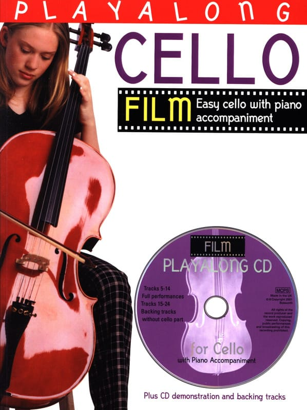 Playalong Cello Film - Partition - Violoncelle - laflutedepan.com