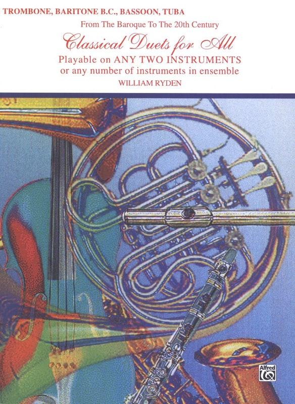 Classical Duets For All - Partition - Trombone - laflutedepan.com