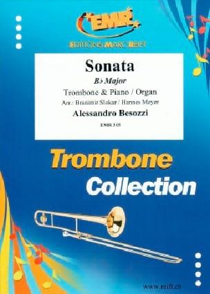 Sonate Bb Major - Alessandro Besozzi - Partition - laflutedepan.com