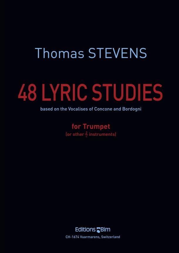 Thomas Stevens - 48 Lyric Studies - Partition - di-arezzo.fr