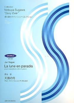 La Lune En Paradis - Jun Nagao - Partition - laflutedepan.com