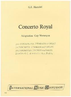 Concert royal - HAENDEL - Partition - Trompette - laflutedepan.com