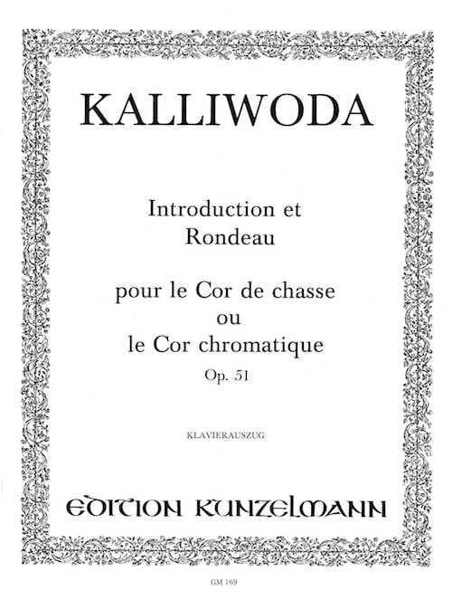 Introduction et Rondeau - Opus 51 - J.W. Kalliwoda - laflutedepan.com