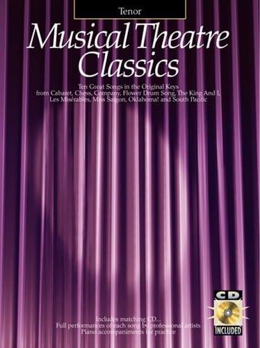 - Musical Theater Classics Tenor - Partition - di-arezzo.co.uk