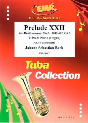 Prélude XXII - BACH - Partition - Tuba - laflutedepan.com