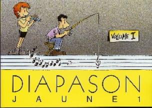 Diapason Jaune - Volume 1 - Partition - laflutedepan.com